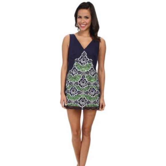 975488a96d8c35 Lilly Pulitzer Dresses | Nwt Slyvie Embroidered Shift Dress | Poshmark